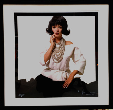 Marilyn Monroe in Jackie Kennedy Wig Limited Edition Photograph from Last Sitting Series by Bert Stern 1962 - $10K VALUE