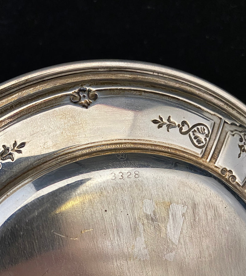 Gorham Small Sterling Silver Plate - $2K APR Value w/ CoA!