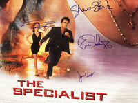 """The Specialist"" 1994 Movie Poster Autographed Signed by Sylvester Stallone Sharon Stone Eric Roberts James Woods - $2K VALUE"