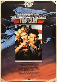 """Top Gun"" 1986 Movie Poster Autographed Signed by Val Kilmer - $2K VALUE"