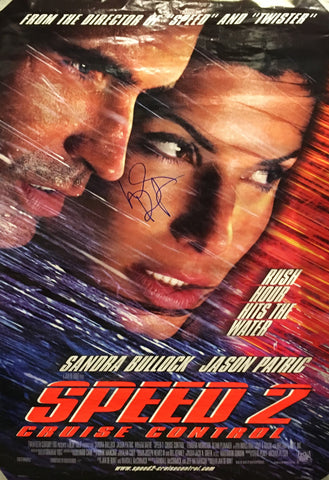 """Speed 2: Cruise Control"" 1997 Movie Poster Autographed Signed by Sandra Bullock - $1,000.00 VALUE"