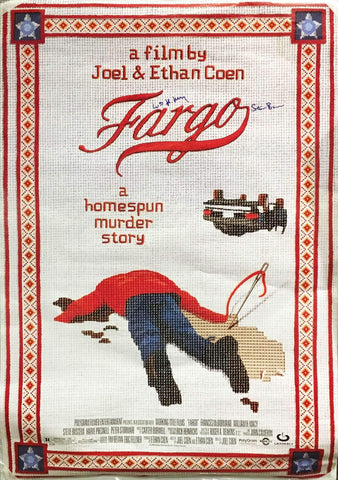 """Fargo"" 1996 Movie Poster Autographed Signed by William H. Macy Steve Buscemi - $600.00  VALUE"