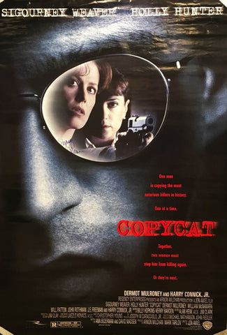 """Copycat"" 1995 Movie Poster Autographed Signed by Sigourney Weaver - $K VALUE"