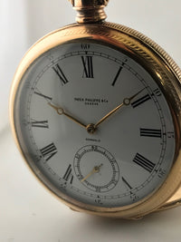 "Patek Philippe & Co Pocket Watch 18K Gold style ""Gondolo"" $30K Val W/ Cert!!!!!!"