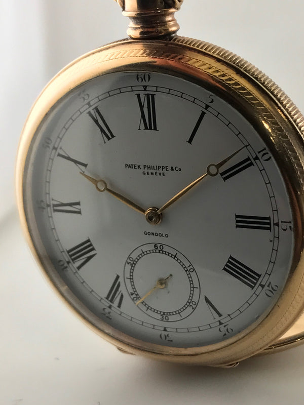 PATEK PHILIPPE Pocket Watch Rose Gold Tone-style