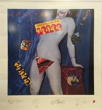 "ROLLING STONES ""Undercover"", Ltd Ed. Lithograph, Signed & Numbered, C. 1994 - $2K VALUE*"
