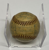 BROOKLYN DODGERS Rare 1956 Baseball Signed by Entire Team - $15K APR Value w/ CoA! +