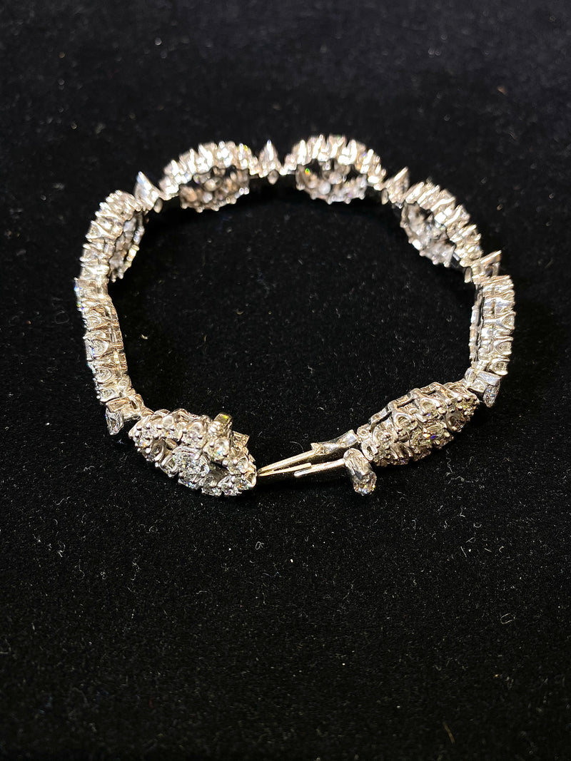 INCREDIBLE Gem Quality Platinum Bracelet 112 Diamonds - 12 Cts. - $102K VALUE w/ UGL Certification!