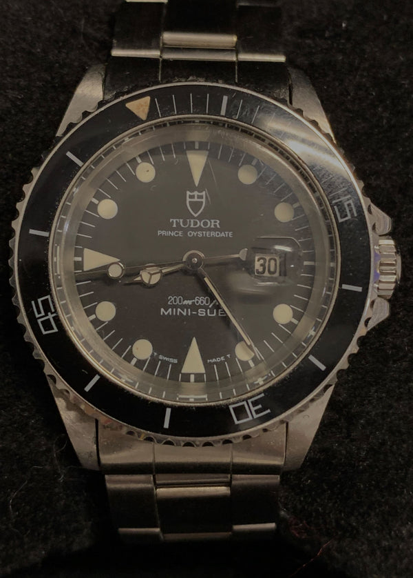 TUDOR/ROLEX MINISUB Prince Oysterdate Wristwatch - $13K APR Value w/ CoA!
