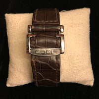 EBEL Classic Hexagon Men's Automatic SS Watch w/ Rose Gold Markers - $6K VALUE