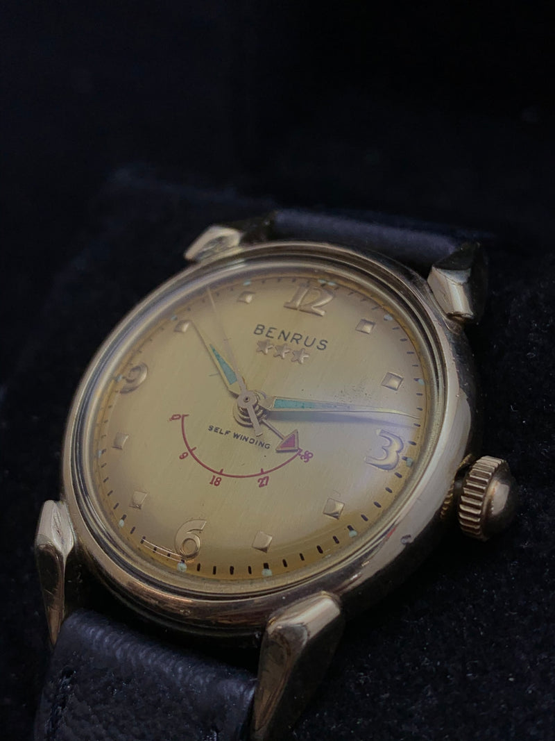 BENRUS 3 Star Limited Edition For US President Eisenhower 1955 Men's Automatic Watch - $10K Appraisal Value! ✓