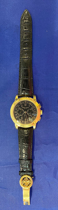 PATEK PHILIPPE Men's 18K YG Chronograph Watch Ref. #5070 - Mint Condition - $150K Appraisal Value w/ CoA!^
