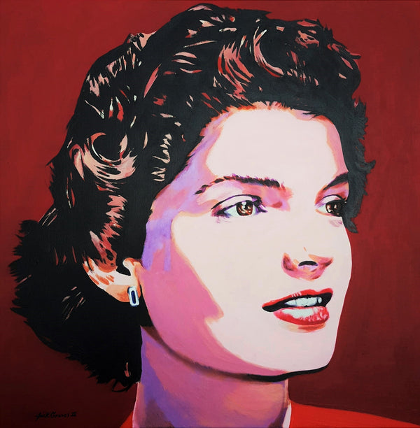 Jack Graves III, 'Jacqueline Kennedy Onassis Icon II', Icon Series 2020 - Apr Value: $3.5K*