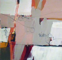 "Jimmy James and Nuella Clarke, ""Untitled"", Abstract Acrylic on Paper, c. 2002 - APR $8K*"