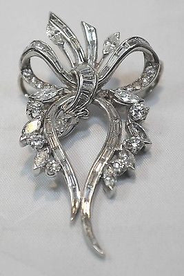 1900s Antique Edwardian Era Diamond Slide Pendant in Platinum - $35K VALUE