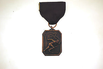 1971 Rare Bronze Freshman X-C Relay Class B 9th Team Track Medal - $1K VALUE