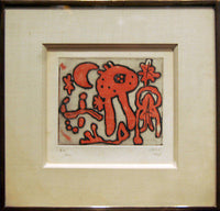 Original Limited Edition Etching by Joan Miro circa 1947- $60K VALUE*