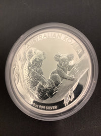 10 OZ AUSTRALIAN KOALA STRUCK FROM THE PERTH MINT - PROOFLIKE SURFACES - FREE CERTIFICATE OF AUTHENTICITY- $500.00 VALUE
