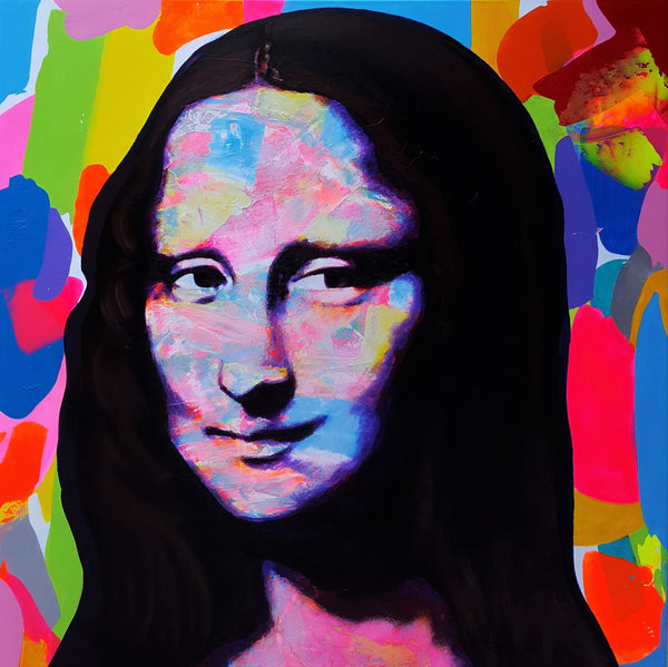 Jack Graves III, 'Mona Lisa Icon II', Icon Series 2019 - Apr Value: $6K*