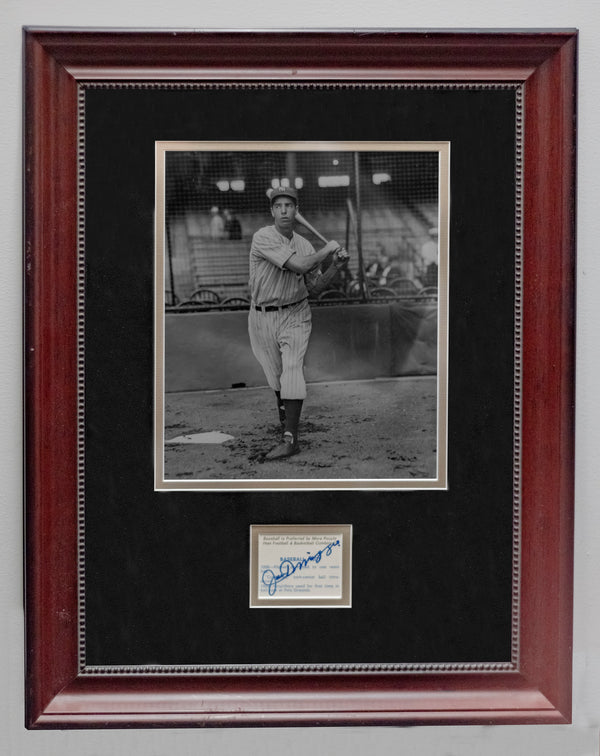 1937 Joe DiMaggio NY Yankees, Charles Conlon photo with autograph. w/COA & $3K APR!+