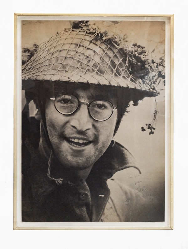 John Lennon Autographed 'How I won the War' Original 1967 Poster -CoA- $30K APR+