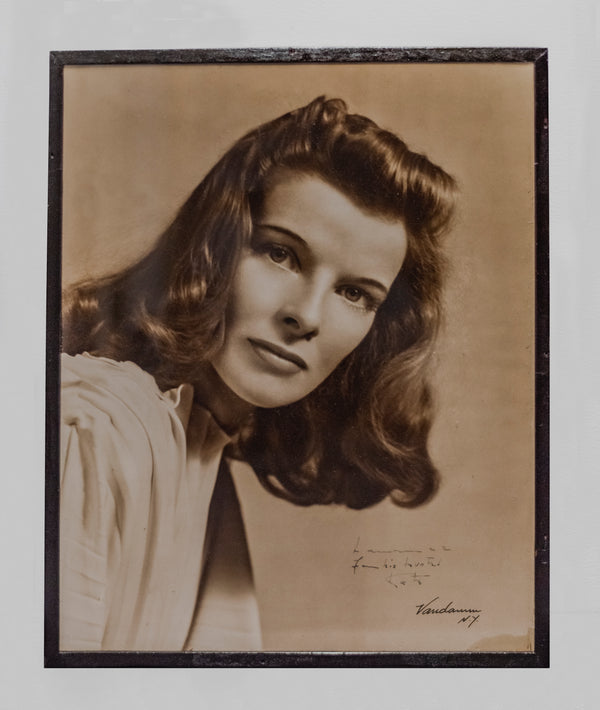 Katharine Hepburn Autographed Sepia-Toned Headshot, C.1950s -CoA- & $4K APR Value!+