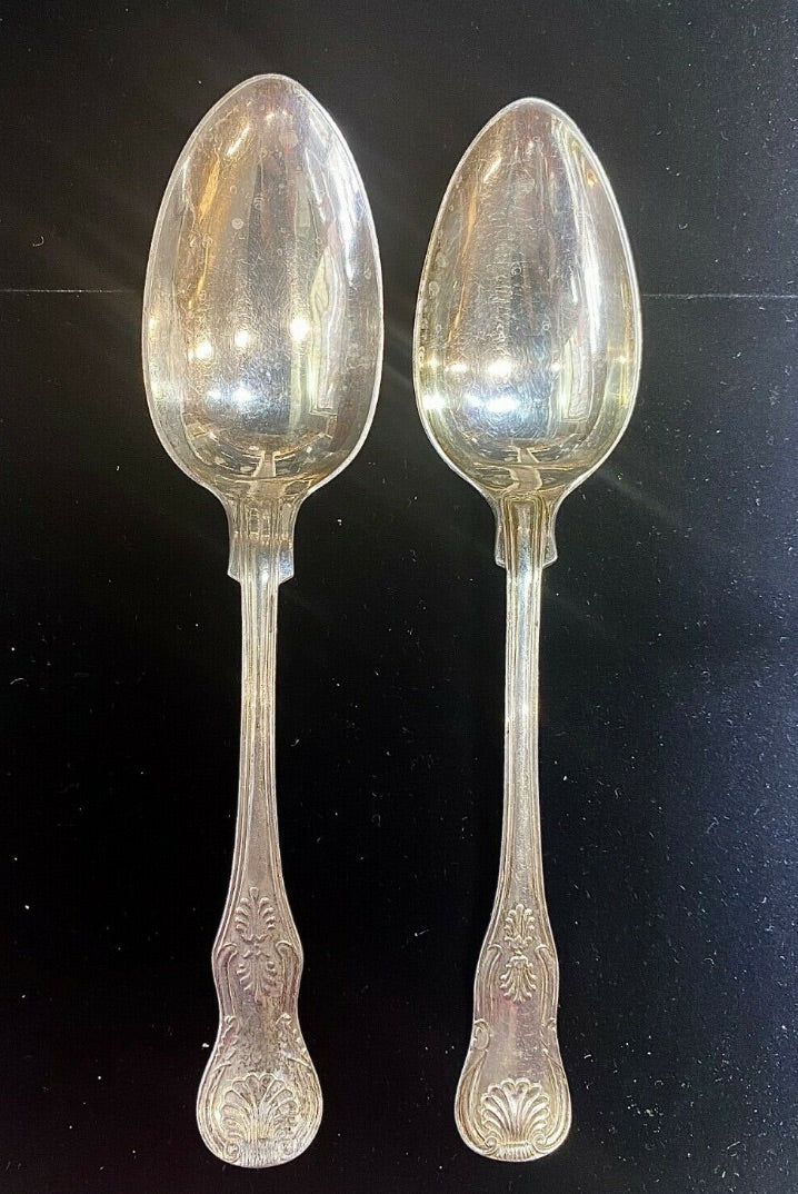 Swedish Sterling Silver Serving Spoons - $500 APR Value w/ CoA!