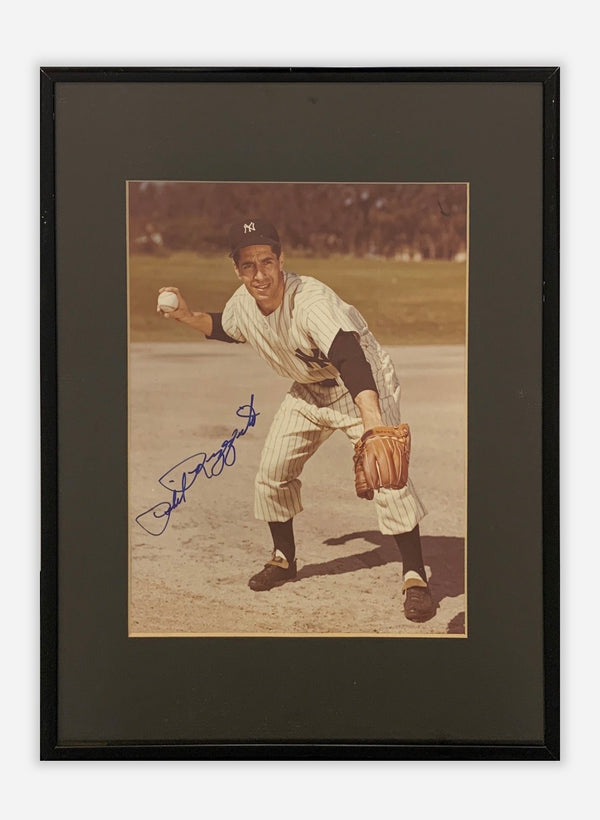 Yankee's Phil Rizzuto Autographed Photo, Baseball Memorabilia - $1K APR Value*