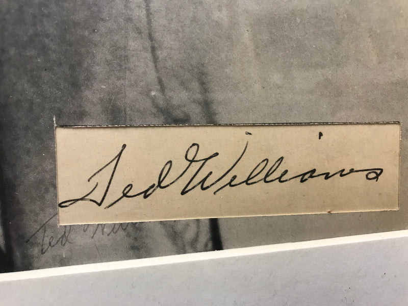 """The Big Three"" Autographs of Joe DiMaggio, Mickey Mantle, and Ted Williams - $3K Appraisal Value w/ Certificate of Authenticity!*"