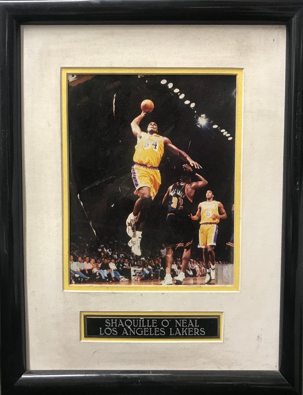 OFFICIAL SHAQUILLE O'NEAL Autographed Photo, APR $800 Value!