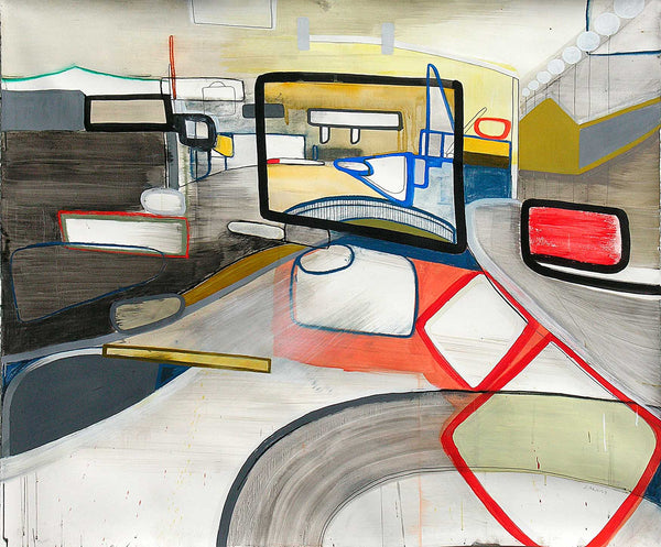 Jean Arnold, 'State Street: Continuous', Urban Motion Series, Mixed Media, 2009 - Appraisal Value: $10K