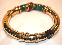 La Nouvelle Bague Gorgeous Italian Enamel Bracelet in 18K Yellow Gold - $25K VALUE