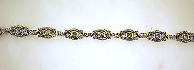 1960s Stunning 2 Carat Diamond Flower Link Bracelet in Solid 14K White Gold - $15K VALUE