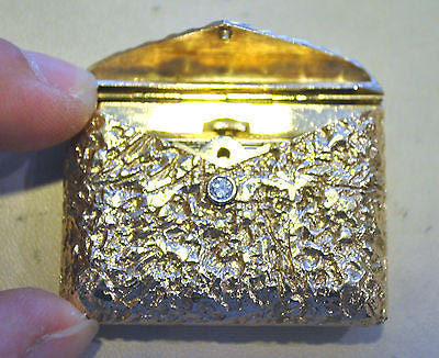 Very Rare Girard Perregaux Yellow Gold & Diamond Letter Case Design Pocket Watch in 14K Yellow Gold - $30K VALUE