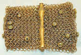 Contemporary Designer Diamond & 22K Yellow Gold Chainmaille Bracelet - $50K VALUE