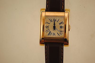 Vintage Bedat & Co. No. 7 Wristwatch in 18K Yellow Gold with Cream Color Wave Dial - $15K VALUE