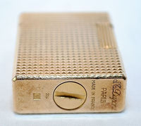 Vintage 1965 St. Dupont Parisian Goldplate Lighter - $5K VALUE*