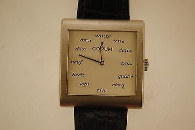 Corum Buckingham French Dial Wristwatch in Stainless Steel - $15K VALUE