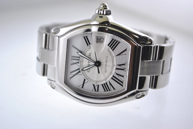 Cartier Roadster Automatic in SS with Date - $8K VALUE