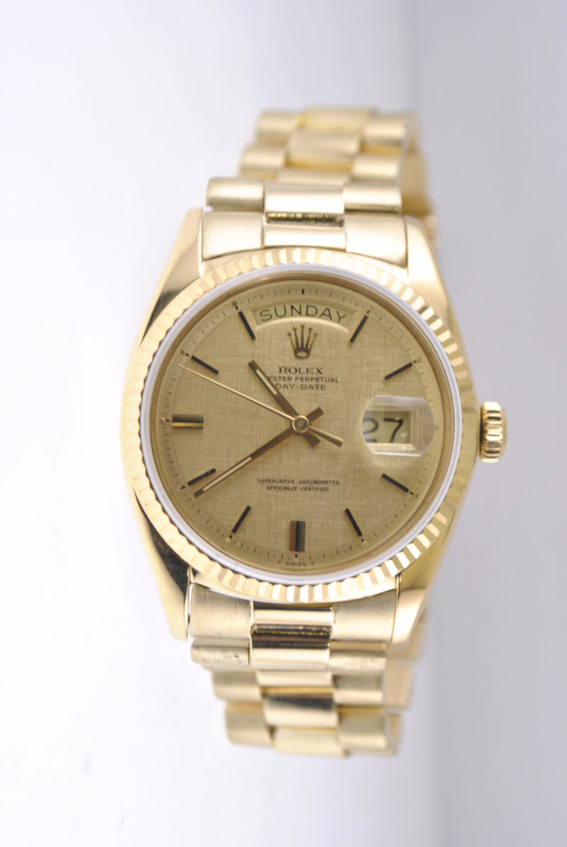 1970s Rolex President Day-Date Men's 18K yellow gold - $38K VALUE