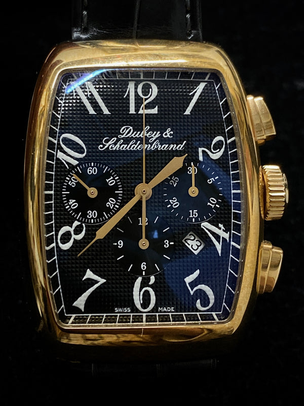 DUBEY & SCHALDENBRAND Aero Chrono, Ref. #1832 Limited Edition #36/50 in 18K Rose Gold - $30K Appraisal Value! ✓