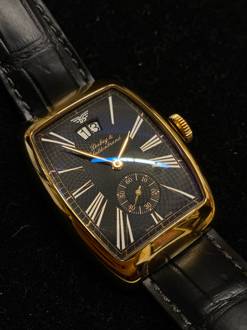 DUBEY & SCHALDENBRAND Aerodyn Date Ref. #1832 Limited Edition #16/50 in 18K Rose Gold - $20K Appraisal Value! ✓