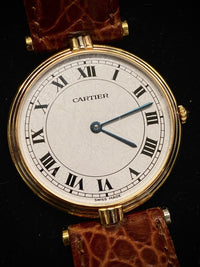 CARTIER Trinity Vendome Ultra Thin 18K Yellow Gold  Vintage Model - $16K Appraisal Value! ✓