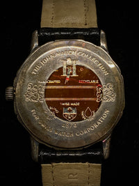 JOHN HARDY Incredibly Rare Sterling Silver Bamboo Bezel Ref. # 4874 Wristwatch - $5K Appraisal Value! ✓