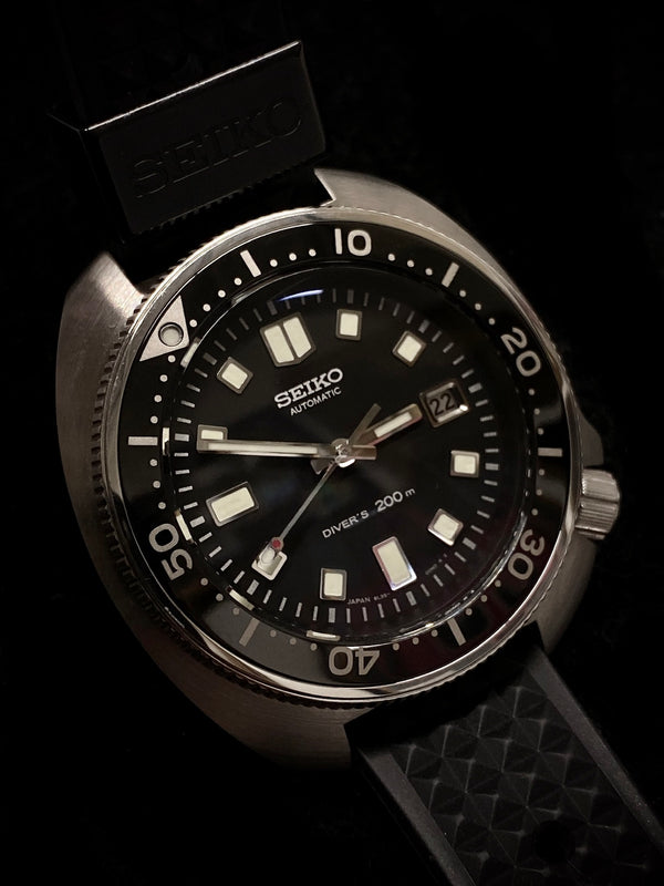 GRAND SEIKO Limited Edition 1970 Re-Edition SS 200M Diver's Watch, #8L35 - $8K Appraisal Value! ✓