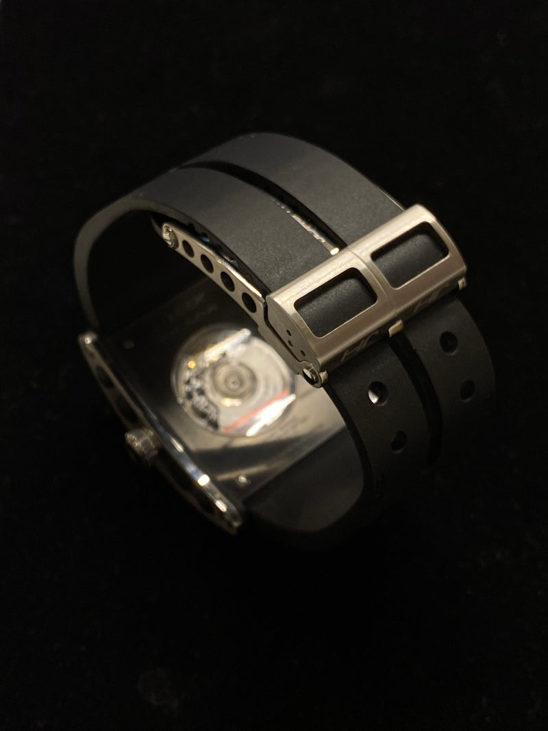 JORG HYSEK Black Stainless Steel Kilada U.A.E Limited Edition of Only 30 Watches Ever Made! - $8K Appraisal Value!