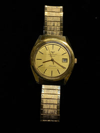 WITTNAUER Vintage 1960s Collectible Gold-tone Swiss Watch - $5K Appraisal Value! ✓