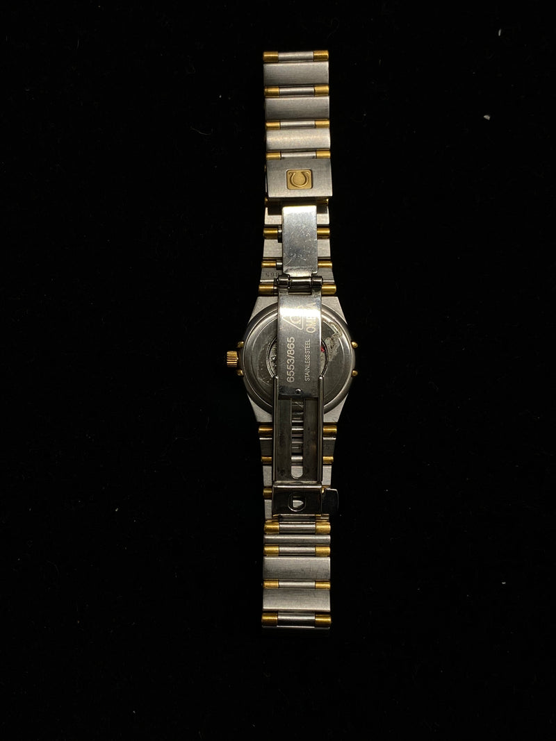 OMEGA Constellation Two-Tone 18K Yellow Gold on Stainless Steel Watch - $5K Appraisal Value! ✓