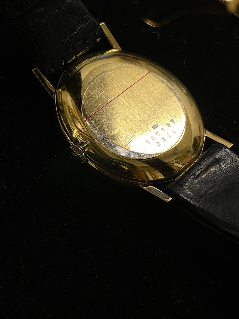 CHOPARD Classic Oval-Shaped 18K Yellow Gold Unisex Wristwatch - $20K Appraisal Value! ✓