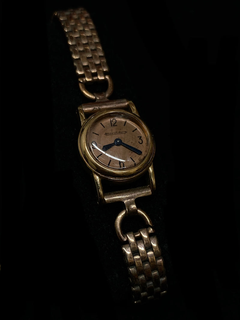 JAEGER LECOULTRE Vintage 1930's Rose Gold Art Deco Style Ladies Watch - $15K Appraisal Value! ✓